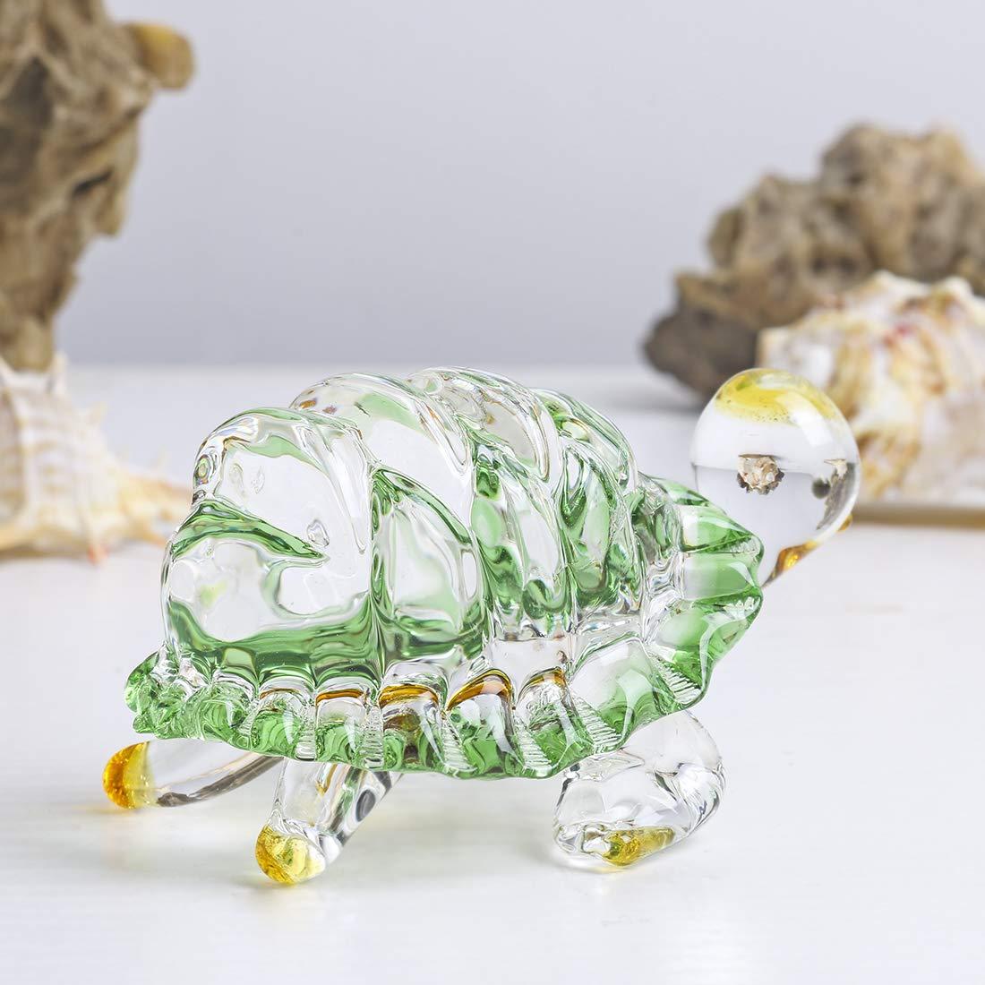 H&D Briefbeschwerer aus Glas, handgeblasen, Blau Seashell, 21    9.5cm  8.2  3.7in B07N1DJW4R | Große Auswahl  c3aeb2