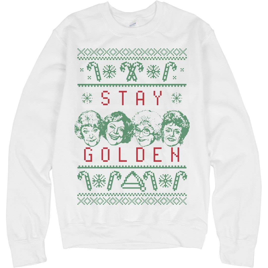 Stay Golden This Christmas Unisex Crewneck 5462 Shirts