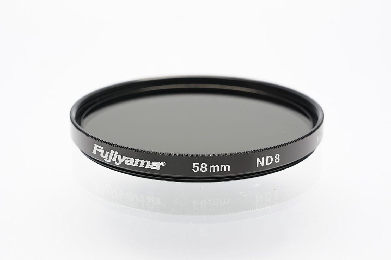 Fujiyama 58mm Neutral Density ND8 Filter for Panasonic Lumix G Vario 12-60mm F3.5-5.6 ASPH Power OIS