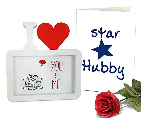 Tiedribbons Gift for Girlfriend Photo Frame Image Replaceable with ...