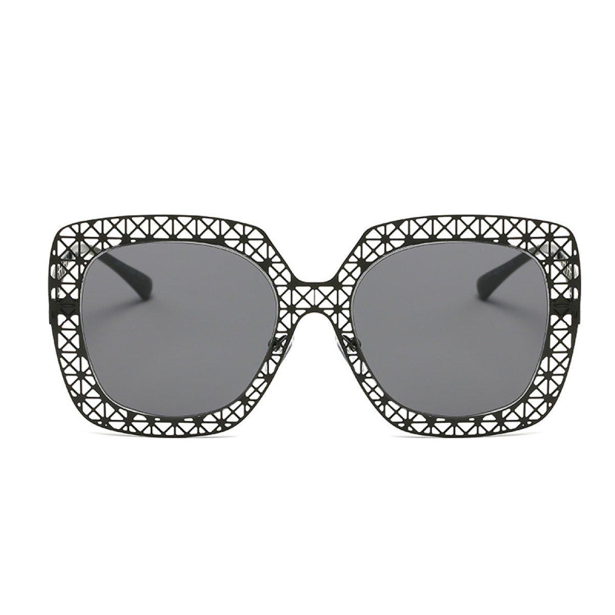 WKAIJC Mode Pop Klassik Persönlichkeit Bequem Leicht Elegant Lässig Retro Männer Und Frauen Sonnenbrillen,B