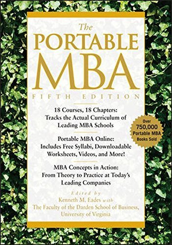 The Portable MBA (The Portable MBA Series) by Eades, Kenneth M., Laseter, Timothy M., Skurnik, Ian, Rodrig 5th (fifth) (2010) Hardcover
