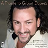 Tribute to Gilbert Duprez