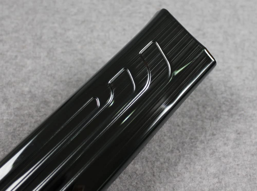 Black Beautost Fit for Honda 2017 2018 2019 CR-V CRV Stainless Steel Inside Door Sill Scuff Plate Guard Cover Trim