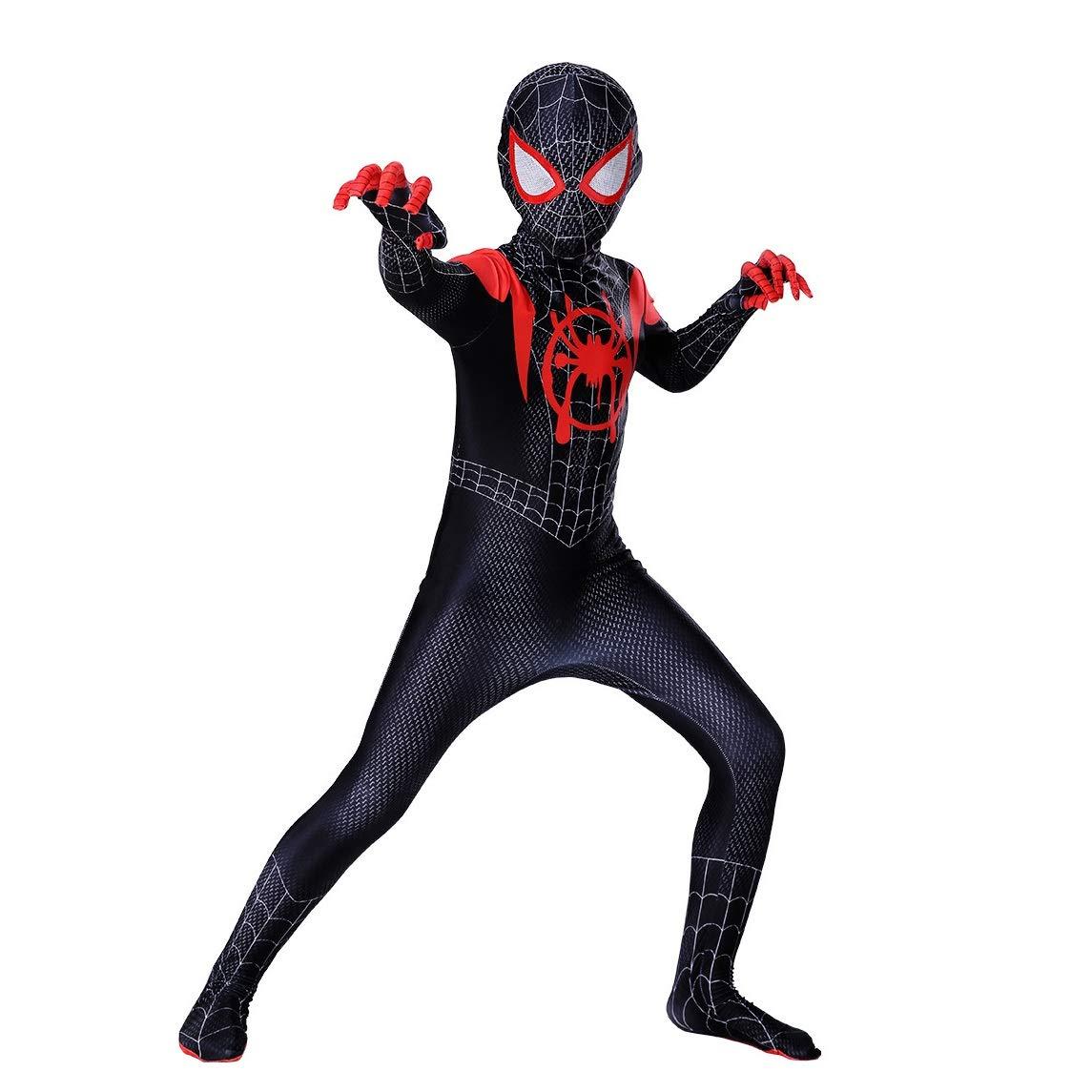 Diudiul Spiderman Traje de Superhéroe Traje Traje Cosplay Zentai ...