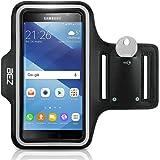 Sportarmband, BEZ® Wasserabweisendes Sport-Armband Armtasche Hülle mit Schlüsseltasche für Samsung Galaxy A3 2017 - Smartphone Fitness Armband für Laufen, Wandern , Radfahren , Reiten