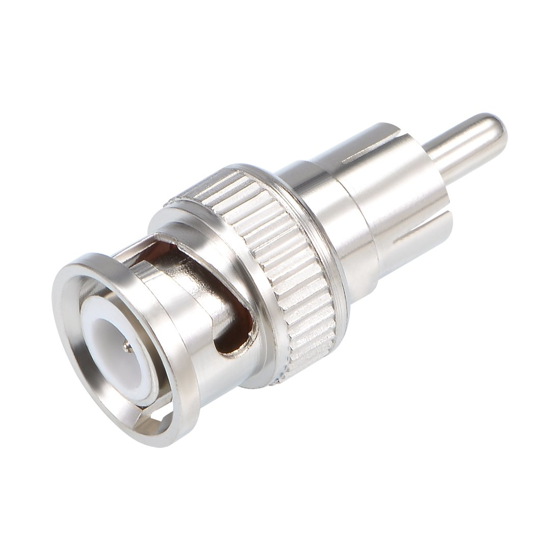 uxcell BNC Male to RCA Male Adapter Coaxial Cable Connector for CCTV Security Camera