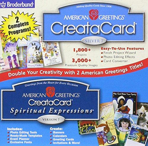 American greetings creatacard silver 7 spirtual expressions american greetings creatacard silver 7 spirtual expressions version 7 m4hsunfo