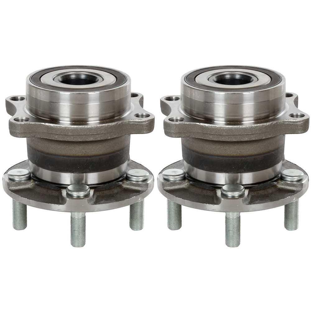 Prime Choice Auto Parts HB612403PR 2 Rear Wheel Hub Bearings Assemblies