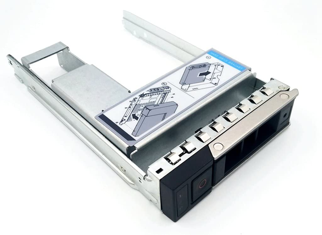 DBTLAP Hybrid Drive Carrier 3.5 Tray 2.5 Adapter Compatible for Dell 9W8C4 F238F R710 R720 R630 T610