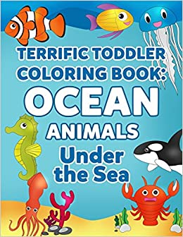 Coloring Books For Toddlers Ocean Animal Coloring Book For Kids
