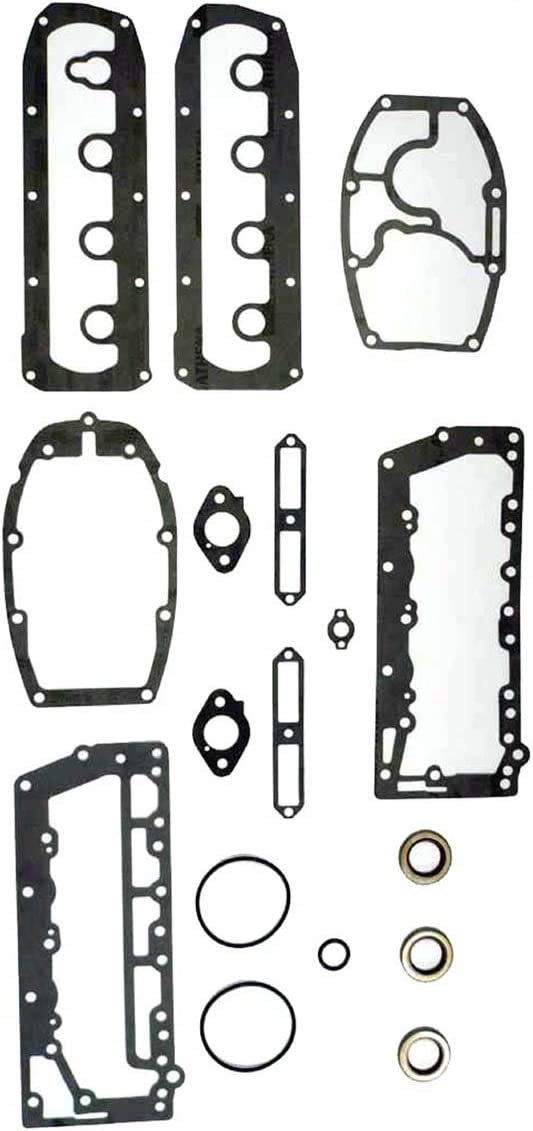 MERCURY 40-50 HP 4 Cyl.Complete Power Head Gasket Kit WSM 500-200 OEM# 27-72486A32