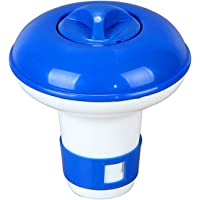 Festnight Floating Tablet Spa Chemical Dispenser Floating Pool Chlorine Dispenser Chemical Holder for 1.5 inches…