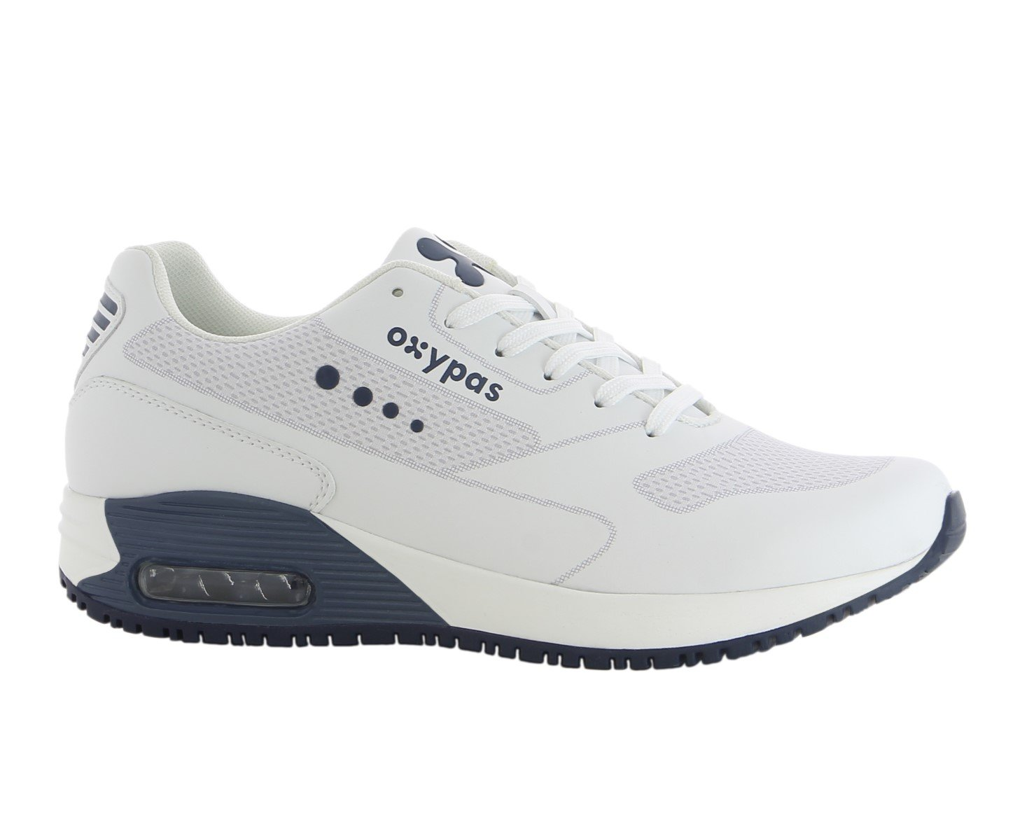 Oxypas JamesS4601blk James Sra Working Shoe With Coolmax Lining