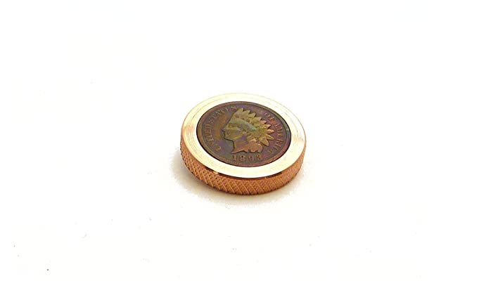 THE FLATTOP - COPPER INDIAN HANDMADE EDC SPINNING TOP - MADE IN THE USA