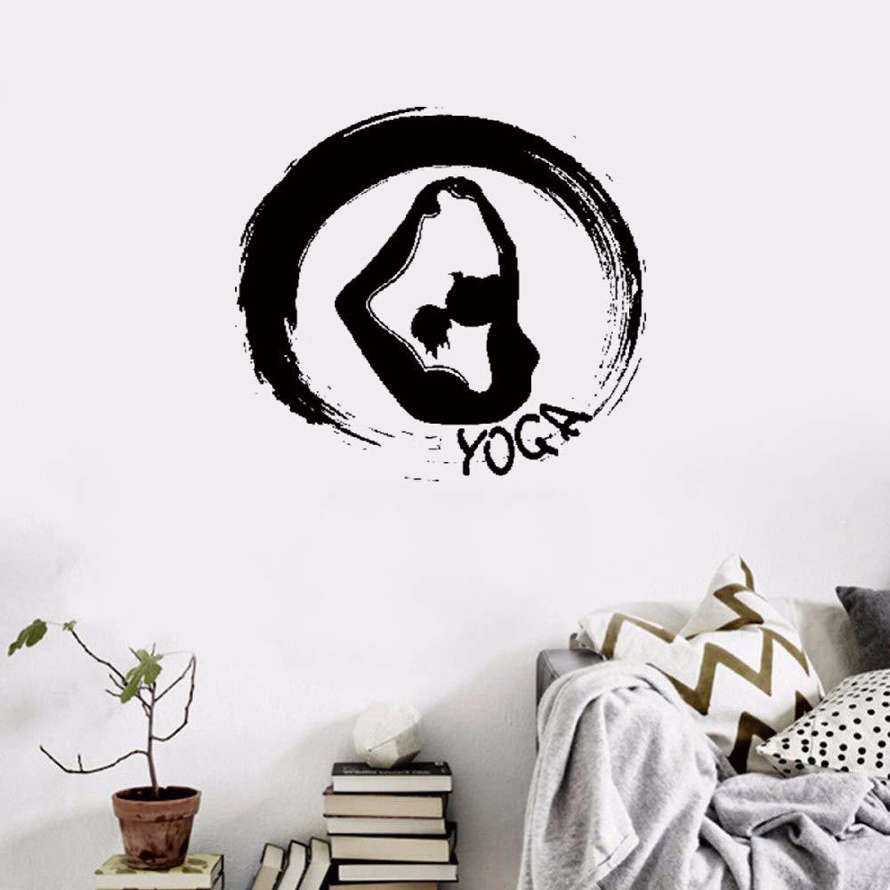 pegatinas de pared tortugas ninja Wall Yoga Fitness Zen ...