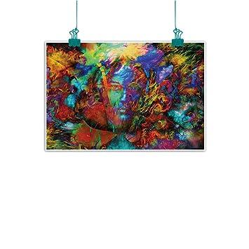 Amazon.com: Pintura decorativa sin marco para hombres ...