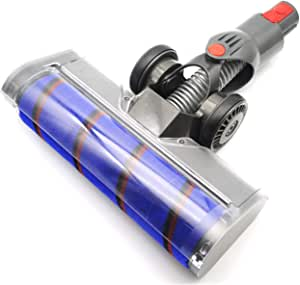 EZ SPARES EASY LIFE Replacement for DYS V7 V8 V10 V11 Brush Attachment,Motorized Brush Floor, Motor Head,Velvety Drum Suction Head Cleaner Head for Dyson with Powerful Suction,Multi-Angle Rotation