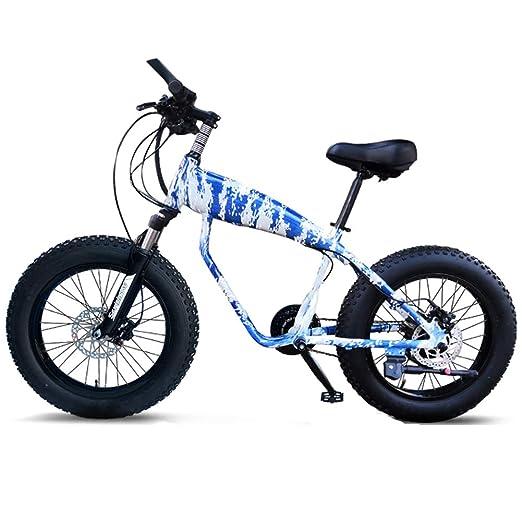 NENGGE 20 Pulgadas Bicicleta Montaña, 30 Velocidades Neumáticos de ...