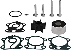 Water Pump Impeller Rebuild Kit without Housing for Yamaha 60-90hp Outboards Compatible Part#692-W0078-02-00