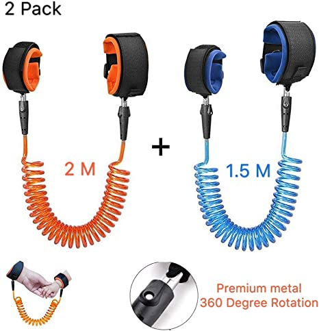 EEM 2 Pack Elastic Toddler Arnés Walking Leash - Child Anti Lost ...