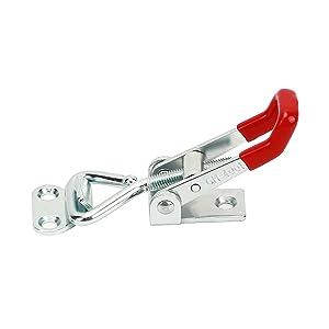 KINJOEK 10 PCS 360 Lbs Adjustable Toggle Clamp 4001 Hand Tool Quick Release Heavy Duty Capacity Latch Type