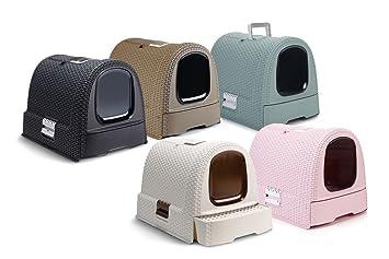 9a0d5825642a8a Curver Petlife Maison de toilette pour chat Rose  Amazon.fr  Animalerie