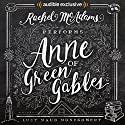 Anne of Green Gables Audiobook by Lucy Maud Montgomery Narrated by Rachel McAdams
