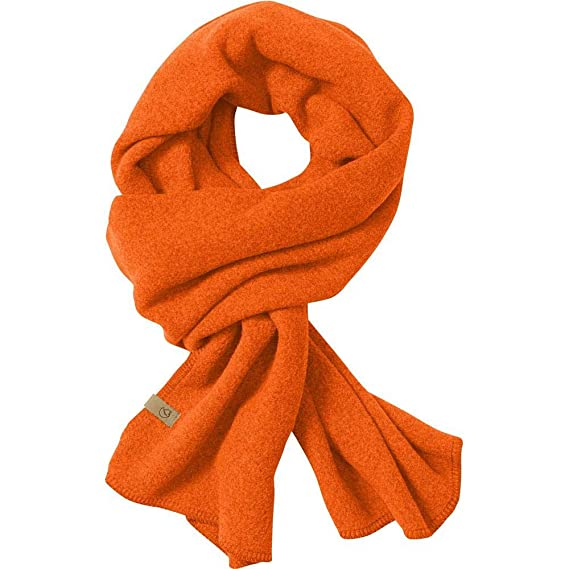 Fj/ällr/även Lappland Fleece Scarf Schal unisex safety orange Orange One Size