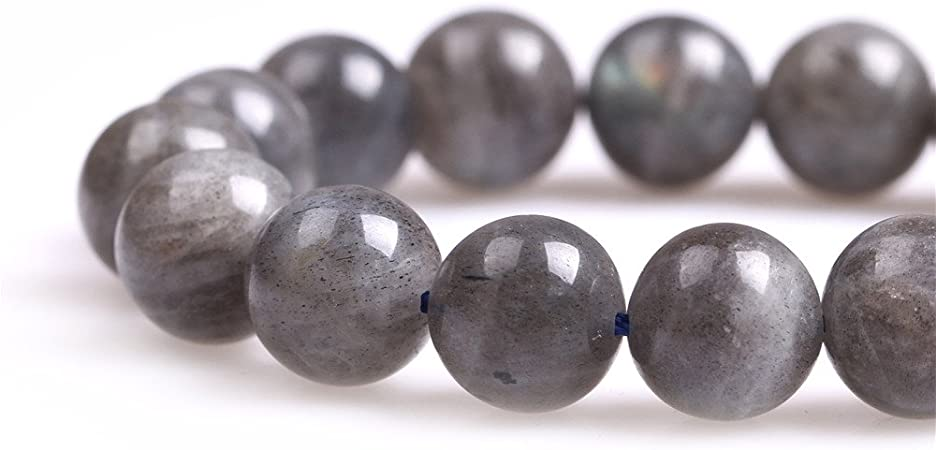 Sweet /& Happy Girls Store pierres rondes Labradorite perles Strang 15/ Fabrication de Bijoux Perles 10mm Labradorit Perlen