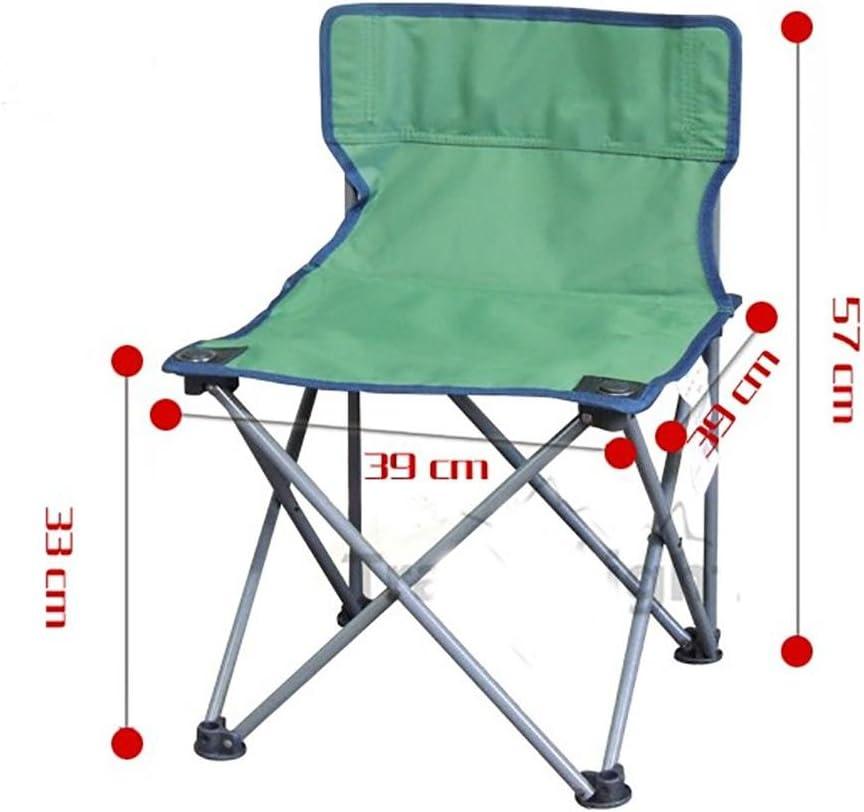 RUIRUI Folding Chair Bbeach Chair Backrest Chair Outdoor leisure Chair green