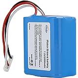 efluky ブラーバ 380J バッテリー 2000mAh for Irobot Braava 380J/380T/Mint Plus 5200 5200c 5200B 対応 交換用ニッケル水素 充電池 2.0Ah 汎用 7.2V 大容量 充電池2000mAh/2500mAh / 3500mAh(2000mAh)