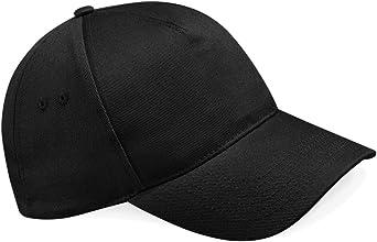 Gorra de béisbol Beechfield B15, 5 paneles Negro negro Taille ...
