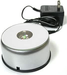 Amazon.com: Soporte giratorio – Plata Espejo – Coleccionable ...