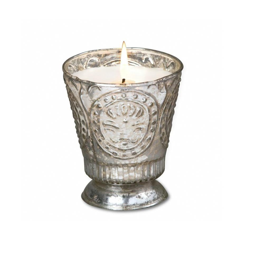 Himalayan Candles Fleur de Lys Soy Candle Tumbler, Honeysuckle, 8-Ounce