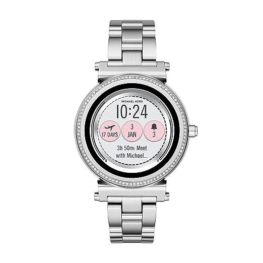 Michael Kors MKT5020 Reloj Inteligente Plata AMOLED 3,02 cm (1.19