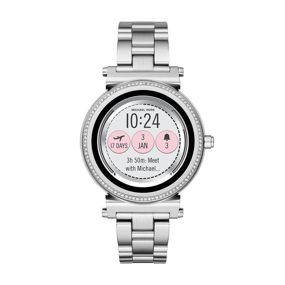 Michael Kors Women's Quartz Stainless Steel Casual Watch, Color:Silver-Toned (Model: MKT5020)
