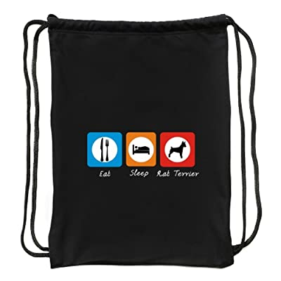 Eddany Eat sleep Rat Terrier Sport Bag
