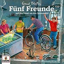 Fünf Freunde 132 und das Rätsel um den Stromausfall (CD de audio)