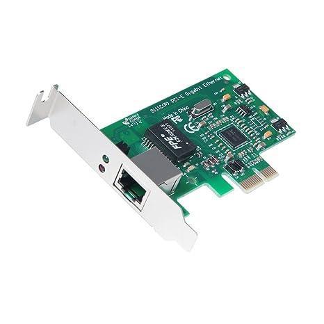 Amazon.com: Nueva PCI-E LAN 10/100/1000 M Red Gigabit ...