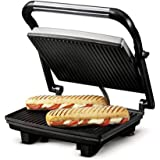 Nova NGS 2449 1000 Watt Panini Sandwich Grill Maker (Black/Grey)
