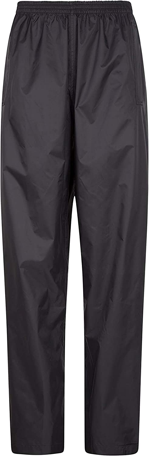 Mountain Warehouse Pakka Womens Waterproof Rain Over Pants - Packaway Bag
