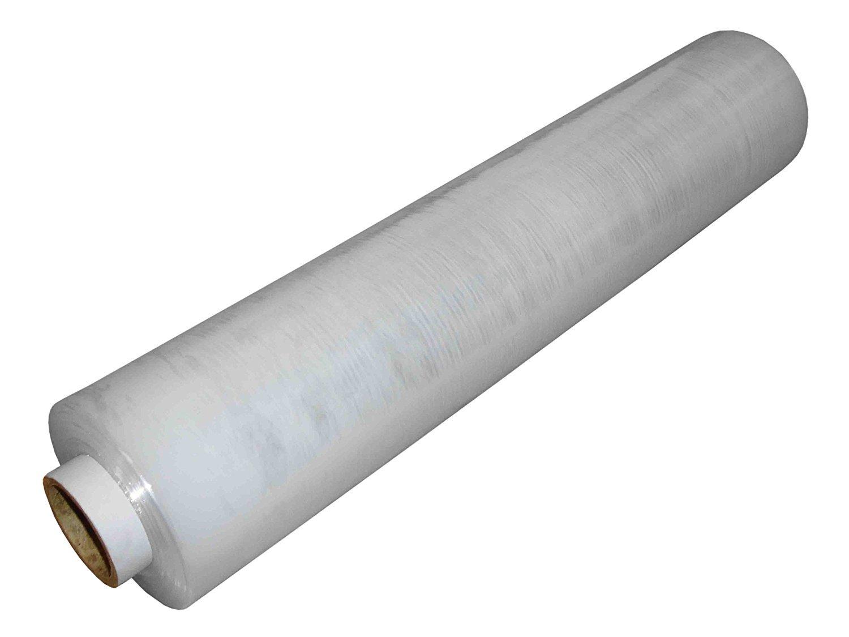Rollo de de Rollo plástico para embalar palets, 500 mm x 300 m, transparente, color transparente 500mm x 300m 4a555f
