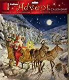 Best Value Christmas Advent for Kids with Santa with 2 of his Reindeer and Sleigh Xmas Perfect Holiday Gift Imported {jg} For mom, dad, sister, brother, grandma, friend, gay