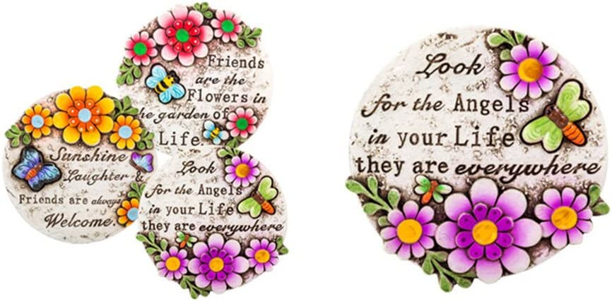 Amazon Com Spring Cement Stepping Stones With Inspirational
