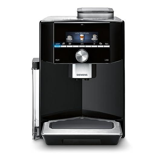 Siemens EQ.9 Independiente Máquina espresso 2,3 L Totalmente automática - Cafetera (Independiente, Máquina espresso, 2,3 L, Molinillo integrado, 1500 ...