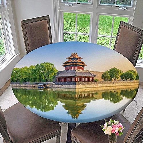 PINAFORE HOME Round Premium Tablecloth beij China at