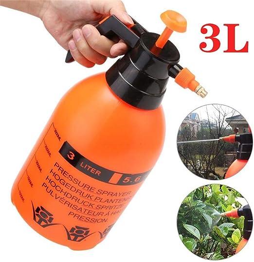 AIMCAE Pulverizador de presión Manual Pulverizador de Granja y jardín 3L con Boquilla Ajustable: Amazon.es: Hogar