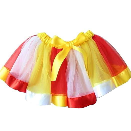 Party Kids Baby Girls Princess Tulle Tutu Skirt Ballet Dress Dancewear Costume