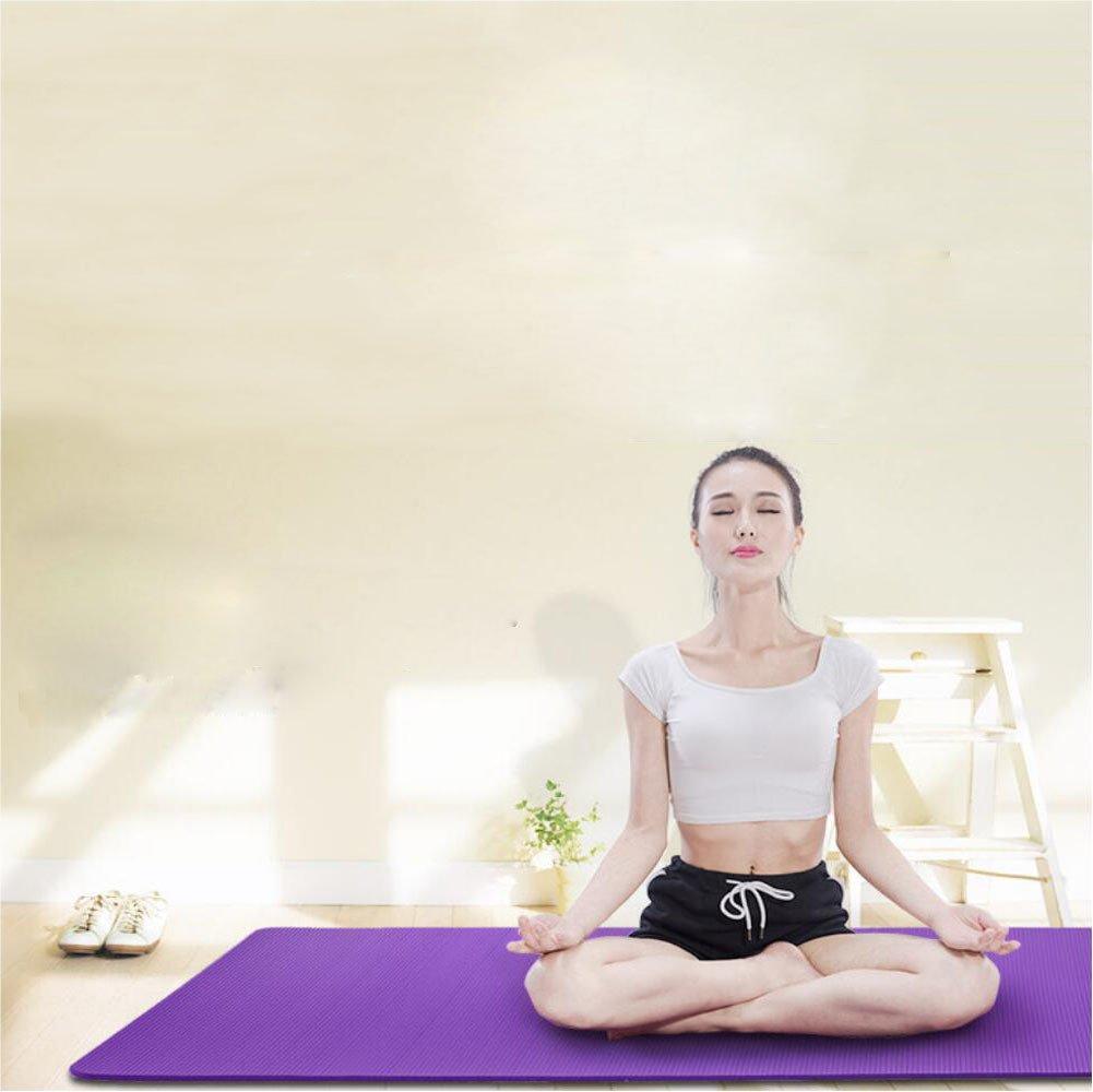 Umweltschutz Eva Streifen Yogamatte Rutschfeste Umweltschutz übungsmatte Fitness Matte Kriechmatte